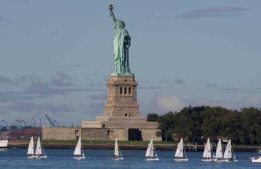 New-York-City-Harbor-Statue-of-Liberty