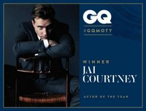 Jai Courtney, Winner of GQ's Actor of the Year, 2015