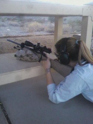2010 - My first rifle, a used Rem700 .223
