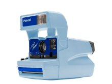 Polaroid 600 80S 636 LIMITED BLUE EDITION
