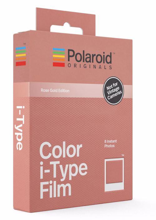 Wkład Polaroid Originals I-type COLOR Rose GoldWkład Polaroid Originals I-type COLOR Rose Gold