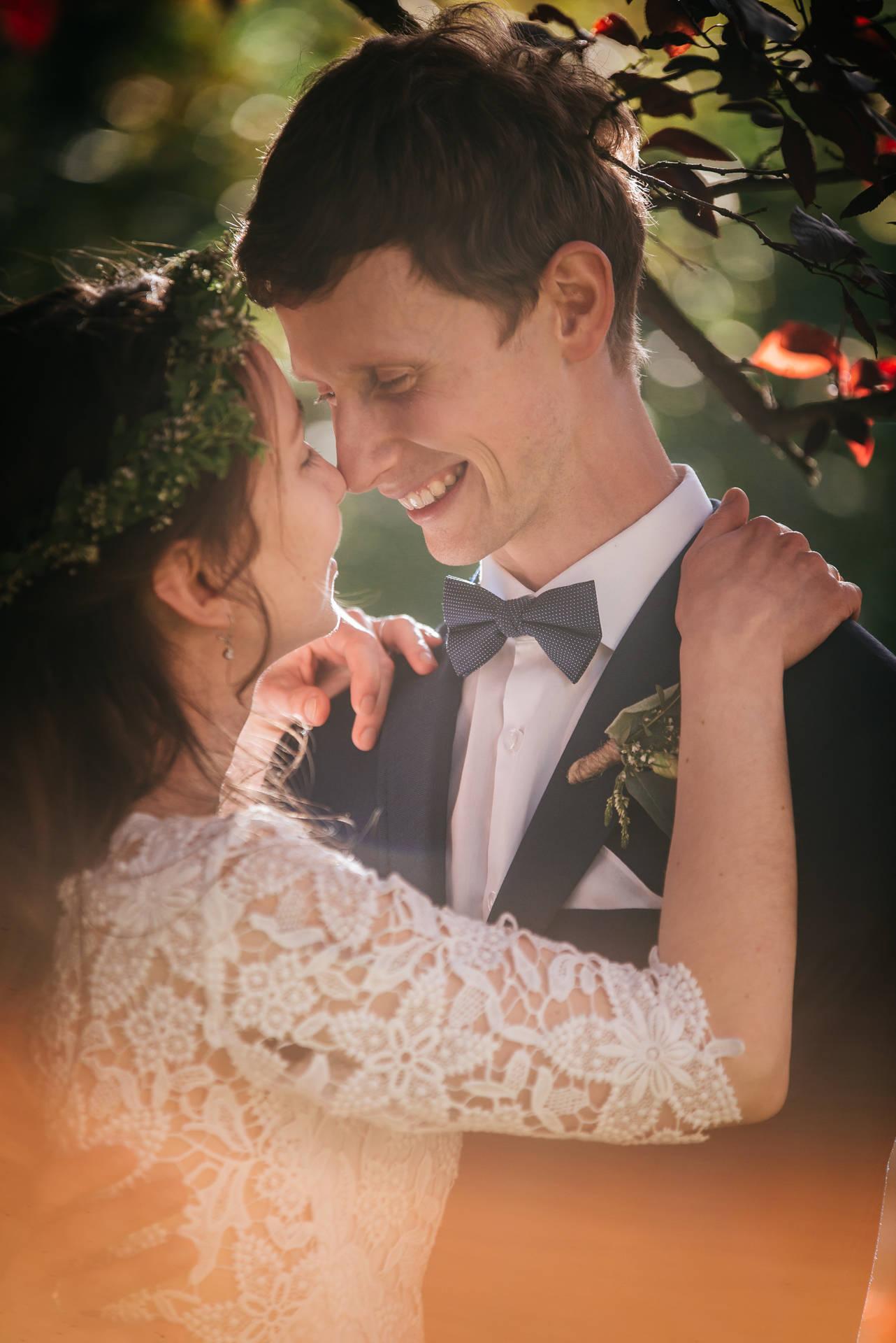 Fotografia ślubna wykonana w Gdańsku, w kościele św. Mikołaja u Dominikanów i w hotelu w Gdańsku Wrzeszczu