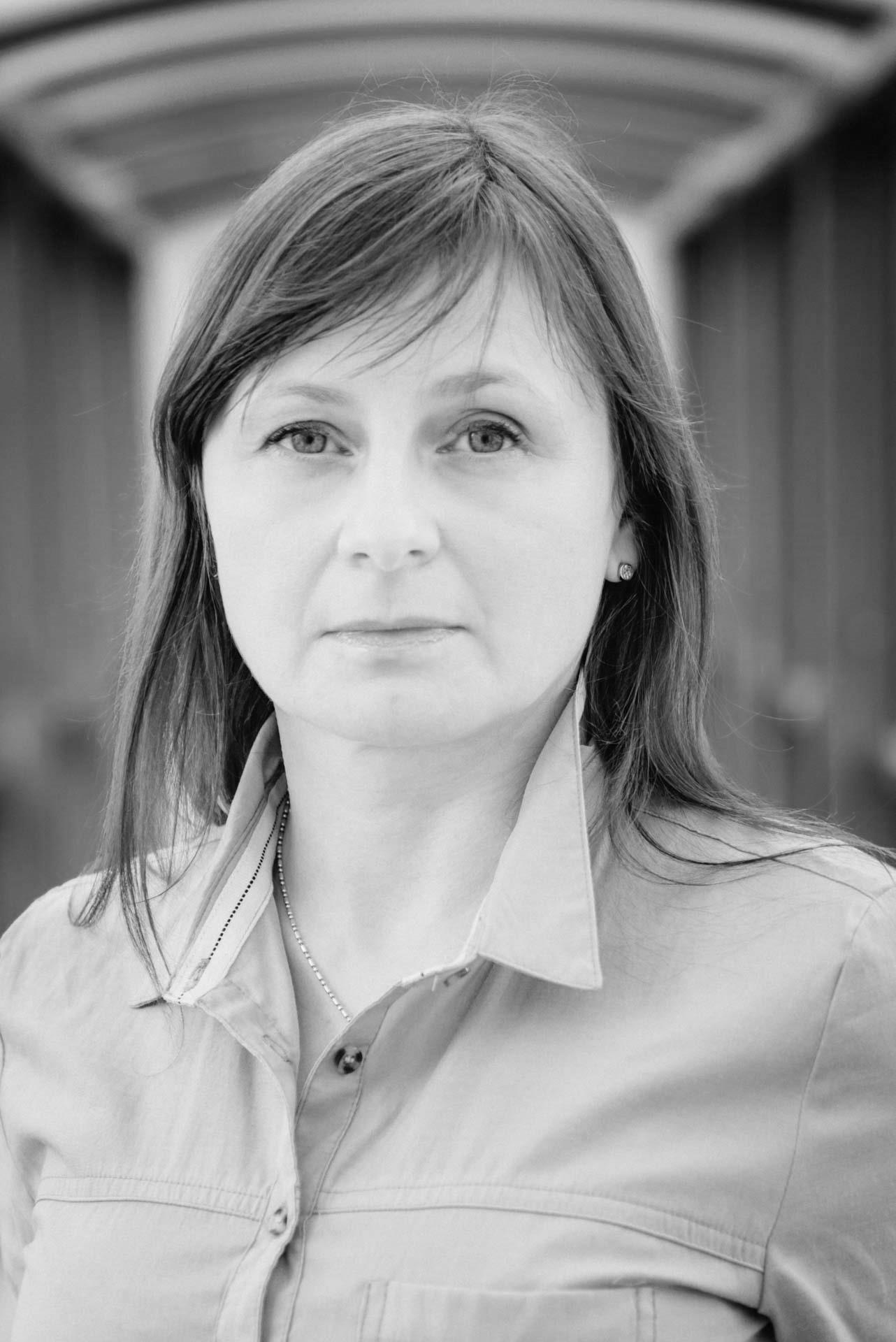 Fotografia portretowa zrealizowana w studiu Radia Gdańsk przy ulicy Grunwaldzkiej w Gdańsku Wrzeszczu