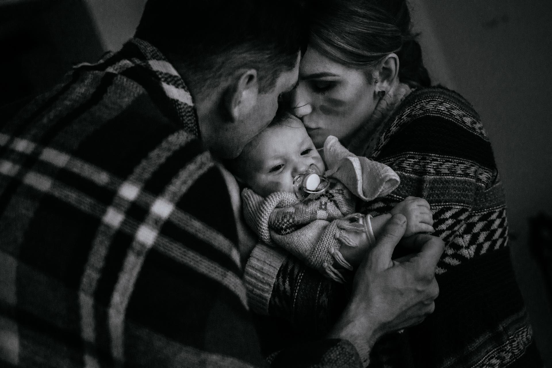 fotografia rodzinna w domu klienta w Nowym Mieście Lubawskim (warmińsko-mazurskie) z dojazdem fotografa
