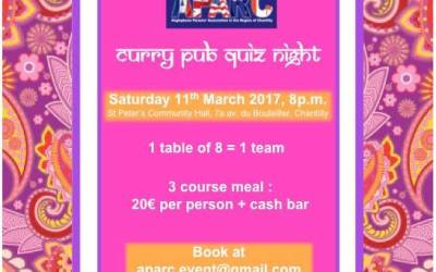 Curry Night 2017