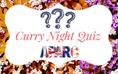 Curry Night Quiz