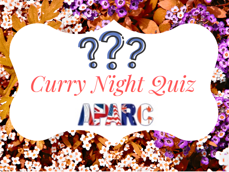Curry Night Quiz