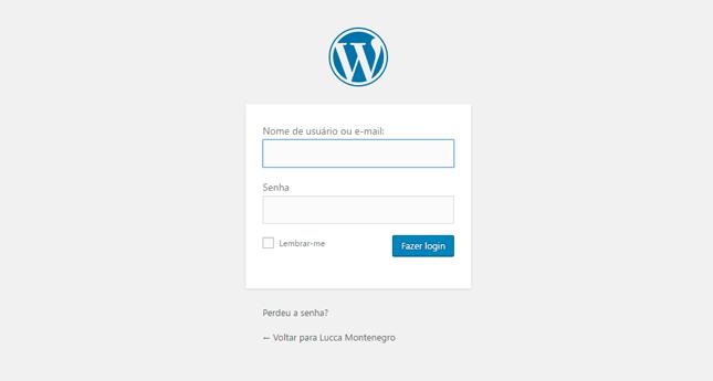 pagina-de-login-wordpress