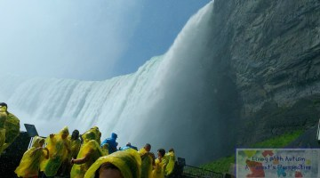 Experience The Power of Journey Behind The Falls