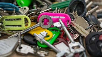 Use Replacement Keys To Repurpose Old Furniture