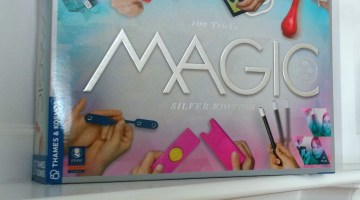Magic: Silver Edition Teaches Kids The Fun Art of Illusion #GiftGuide
