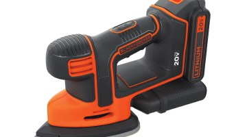 Black+Decker Cordless Sander Makes Detail Work Easier