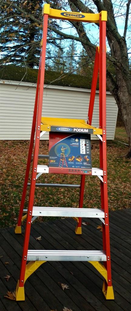 Werner Podium Ladder