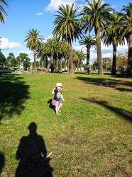 Um dos nossos vários domingos no Parque
