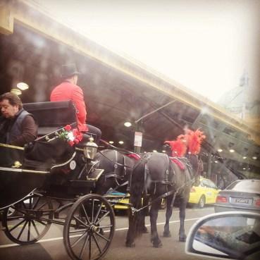Ah, as carruagens