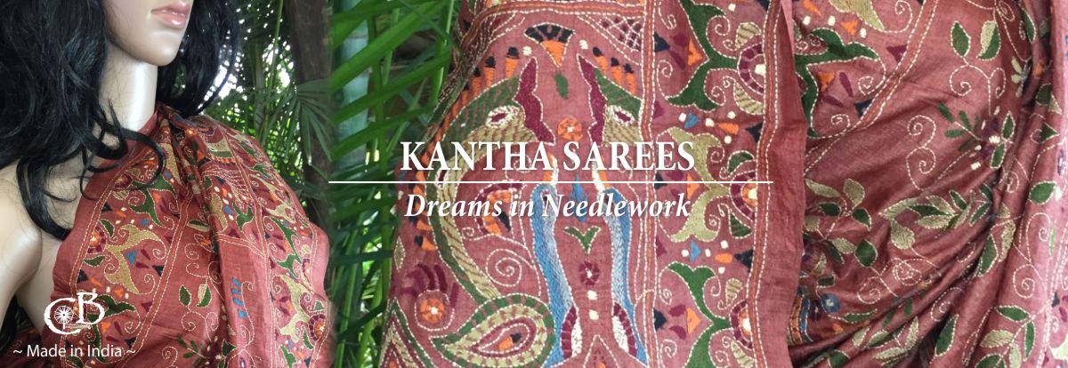 kantha-sarees