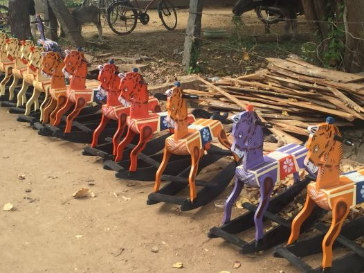 Horses Aligned