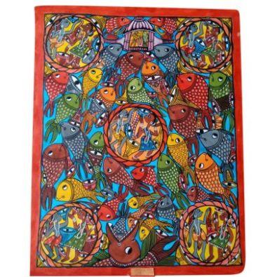 Nature Of Abundance Kalighat Painting