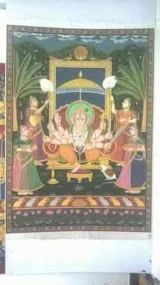 Viganharta Viganharta;Pichwai Painitng