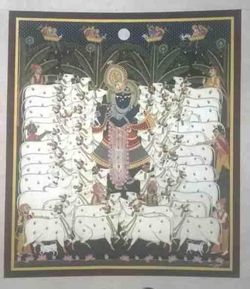 Murli Manohar Murli Manohar;Pichwai Painitng