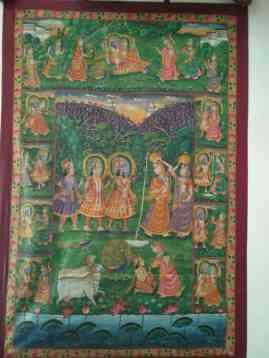 Krishna Avatar Krishna Avatar;Pichwai Painitng