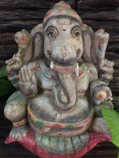 Ganesha - Wood Work Tamil Nadu