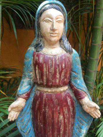 Mother Mary - Wood Work Tamil Nadu