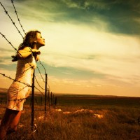 Confessions from behind the barbed wire.