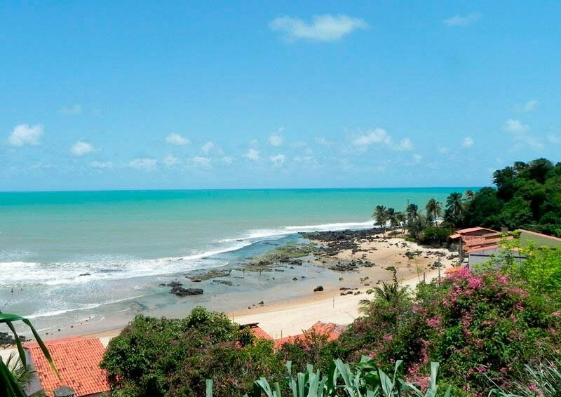 Praia da Cacimba Baía Formosa