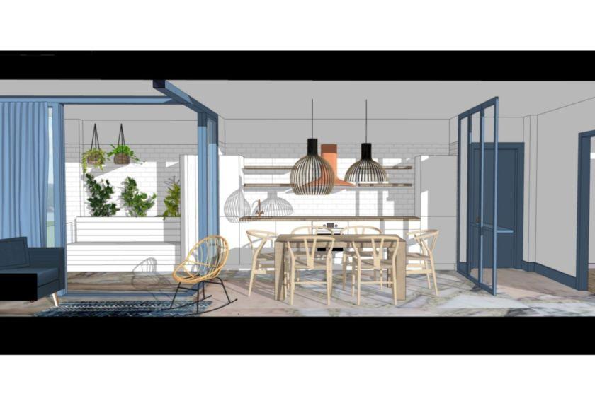 Proyecto decoración Apartamento Lapamán