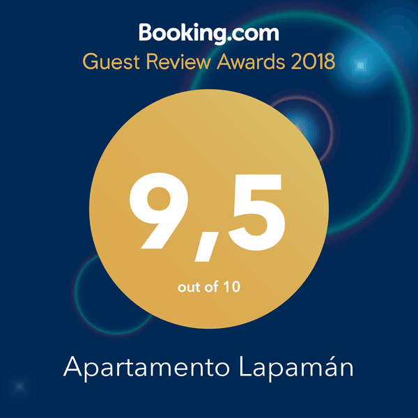 Insignia de Guest Review Awards para Apartamento Lapamán