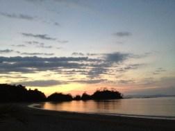 Atardecer desde La Playa de Herradura