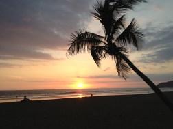 Atardecer desde Playa Jaco