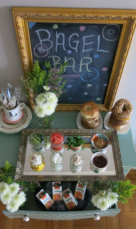 Resident Event Ideas - Bagel Bar