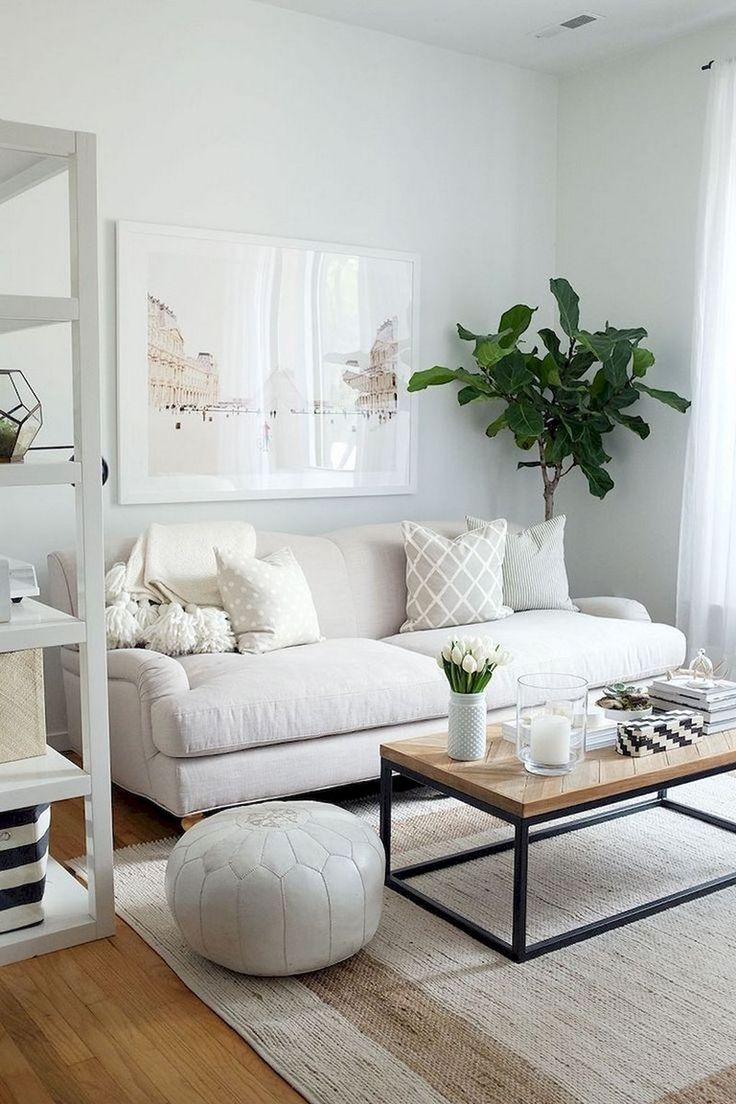 78+ Brilliant Solution Small Apartment Living Room Decor ... on Small Living Room Ideas 2019  id=58677