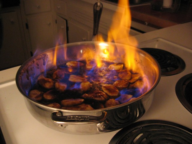Photo Courtesy of Wikimedia Commons (I think that's Bananas Foster)