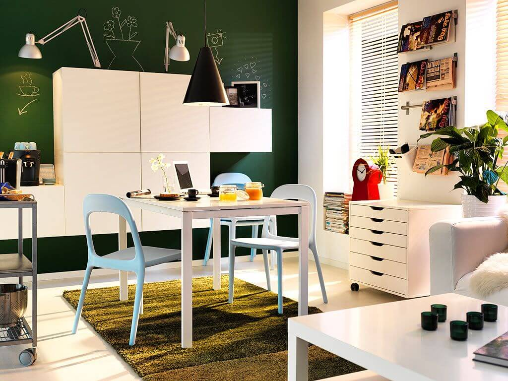 17 Decorating Ideas for Small Spaces - Apartment Geeks on Bedroom Ideas For Small Spaces  id=51852