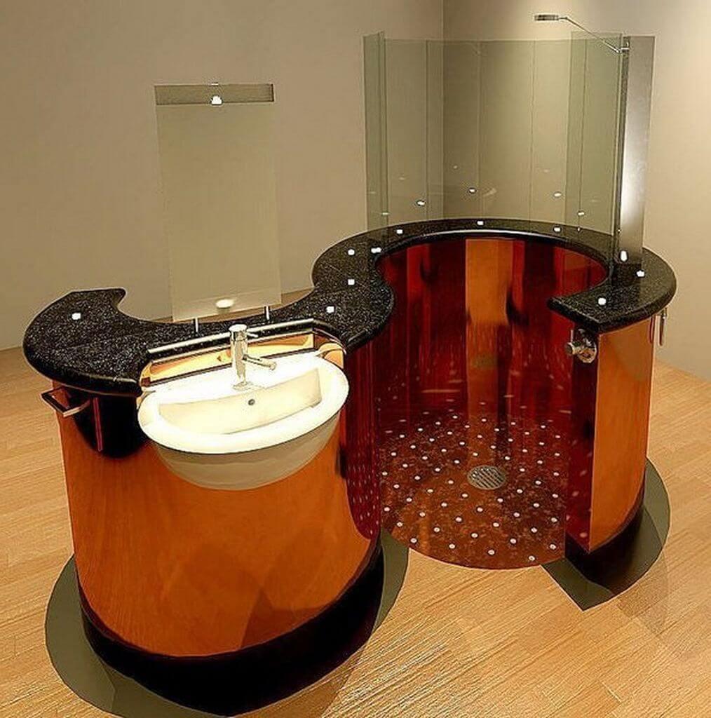 24 Inspiring small bathroom designs - Apartment Geeks on Bathroom Ideas On A Budget  id=51551