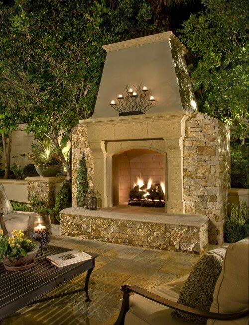 13 Most Amazing Fireplaces on Earth - Apartment Geeks on Amazing Outdoor Fireplaces  id=62702