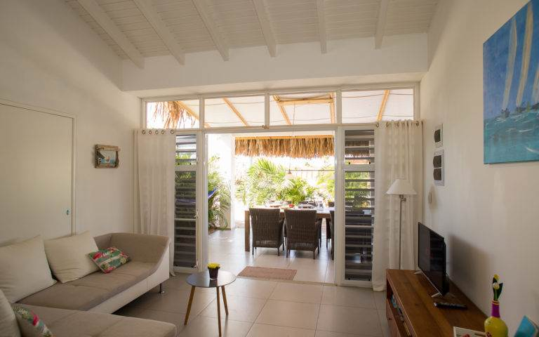 Luxury Villa Apartments for rent Bonaire -Kas Tuna