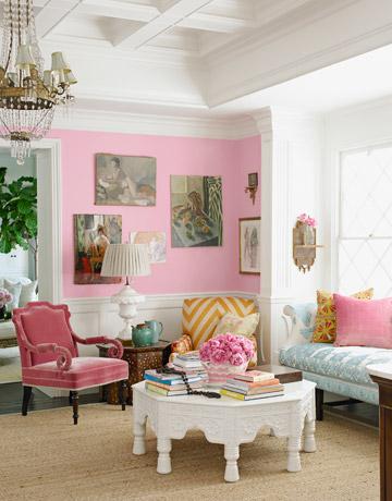 pink decor | Creative Living & Design for the Apartment, Condo ...