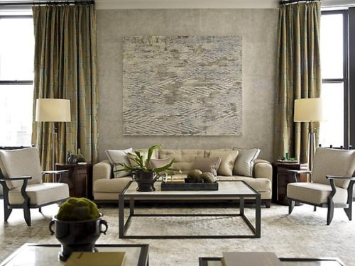 silver living room decorating ideas
