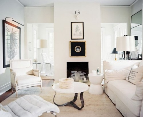 cozy white rooms