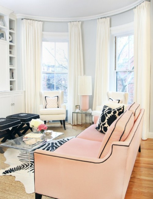 pale pink decor