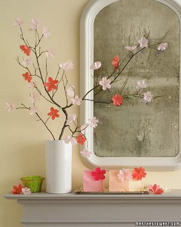 feeling spring decor