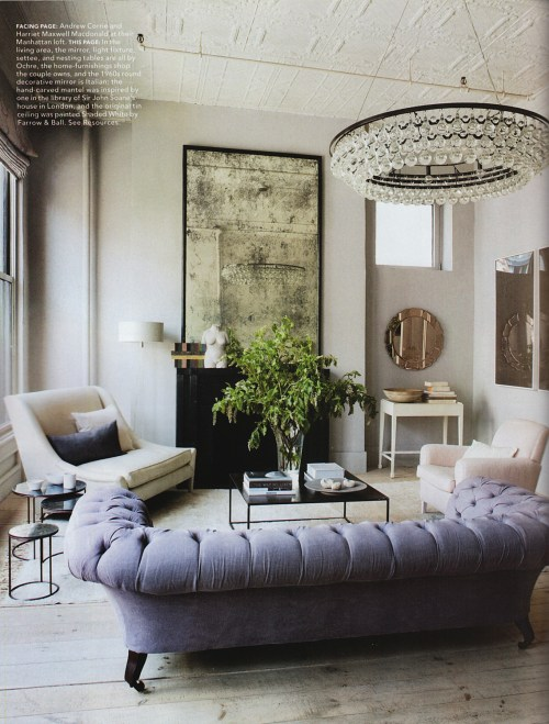 elle decor room of the week