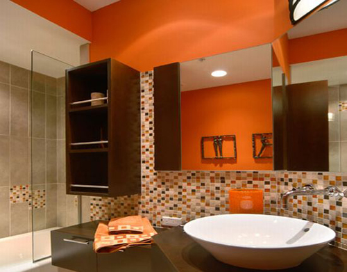 Orange-and-Brown-Bathroom1