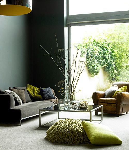 living-room-grey-chartreuse-and-yellow