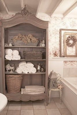 french armoire bath