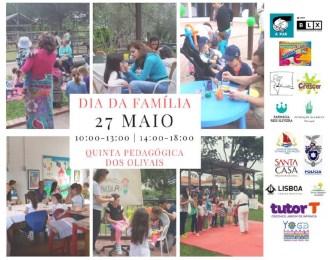 cartaz dia da família